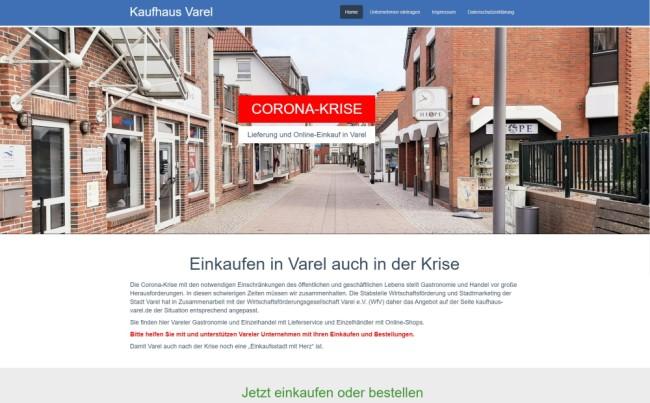 Kaufhaus Varel - Einkaufen in Varel auch in der Krise